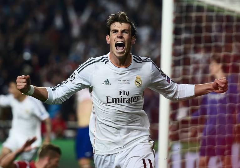 Gareth Bale é outro que fatura alto em pouco tempo. São R$ 3,02 por segundo