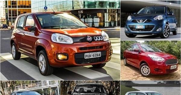 Veja os carros mais econômicos do Brasil segundo o Inmetro - Fotos