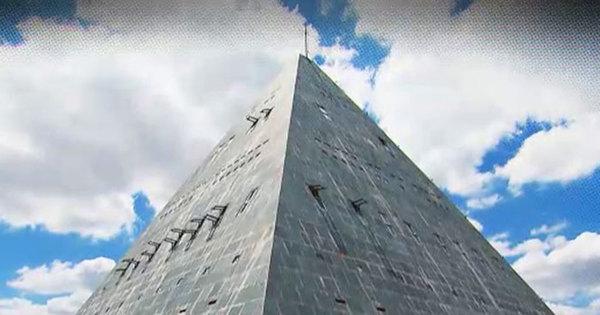 Pirâmide construída no sertão do Ceará é utilizada para contato ...