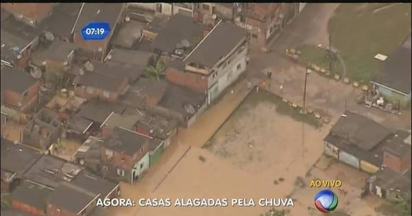 Chuva bloqueia trechos das rodovias Anchieta e Imigrantes e ...