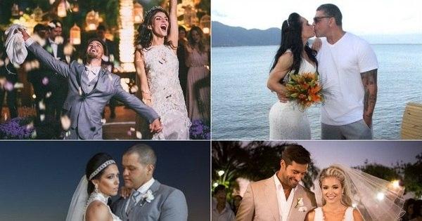A hora do sim! Relembre os emocionantes casamentos dos famosos