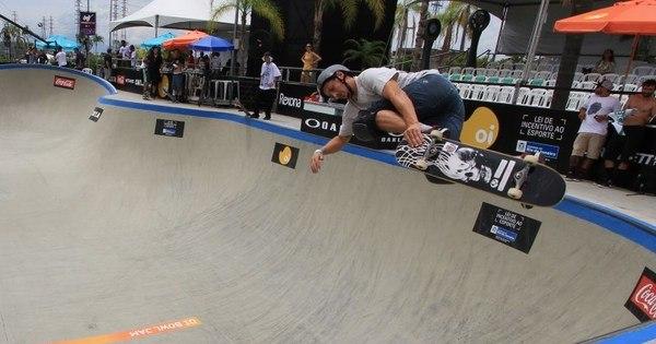 Bala perdida atinge torcedor em evento de skate na zona norte do Rio - R7