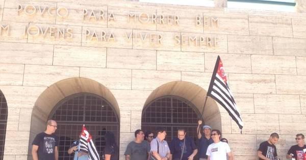Grupo que quer independência de SP se reúne no Ibirapuera ...