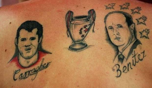 Conheça algumas das piores tatuagens que torcedores fanáticos tiveram coragem de fazer