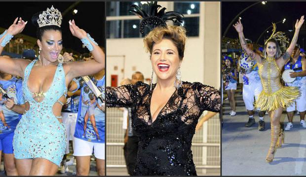 Musas esbanjam samba no pé nos ensaios técnicos para o Carnaval 2015