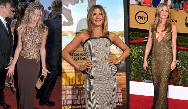 Poderosa! Aos 45 anos, Jennifer Aniston muda estilo e ousa com decotes generosos
