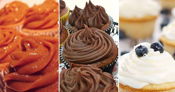 Na moda culinária: Aprenda a preparar três cupcakes de dar água ...