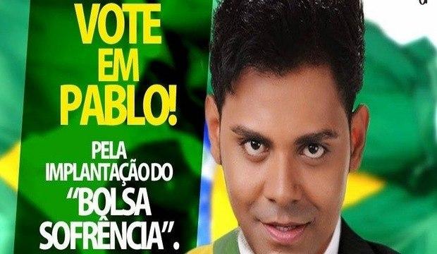 """""""Sofrência"""" do cantor Pablo do Arrocha inspira montagens hilárias nas redes sociais. Confira!"""