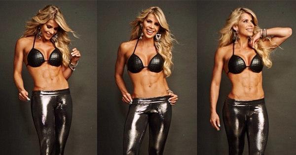 """Karina Bacchi sobre fase fitness: """"Não ficava de biquíni nem na ..."""