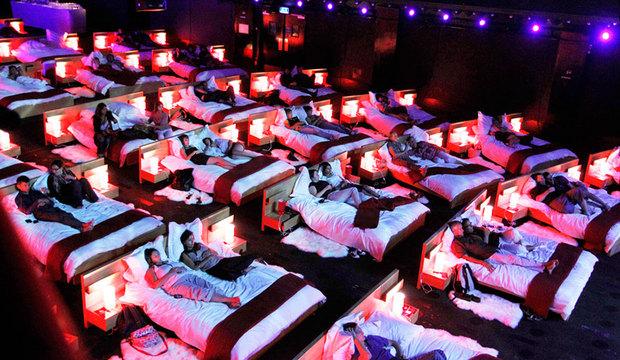 Ao ar livre e até com piscinas: conheça as <br />salas de cinema mais bonitas do mundo