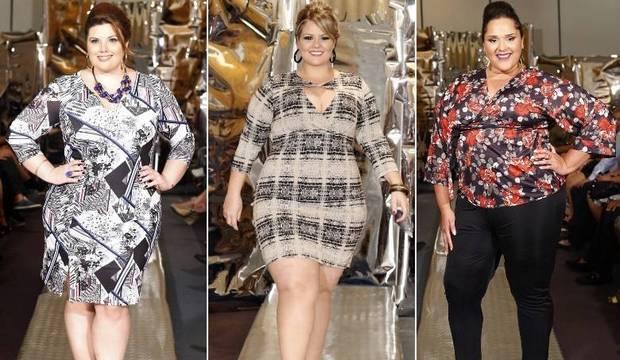 Modelos plus size dão show de beleza e mostram tendências para o Outono-Inverno