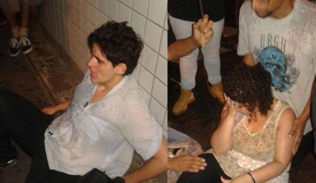 PM joga bomba em estação de metrô e usuários passam mal. Veja as imagens da manifestação