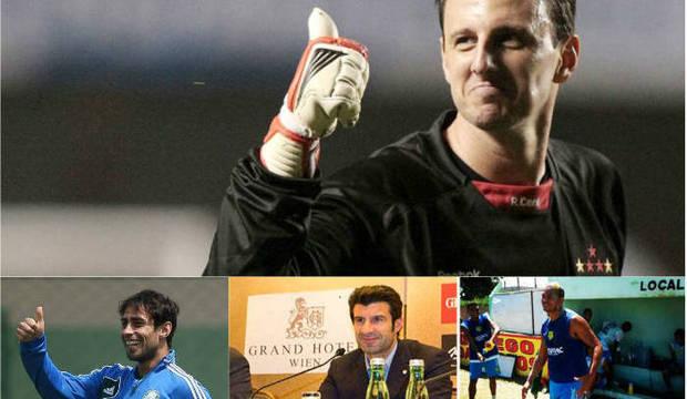 O que Ceni, Valdivia e outros craques fariam para concorrer com Figo à presidência da Fifa?