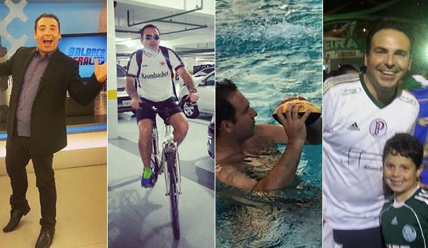 Reinaldo Gottino é gente como a gente: ele anda de bicicleta, adora nadar e é louco por futebol