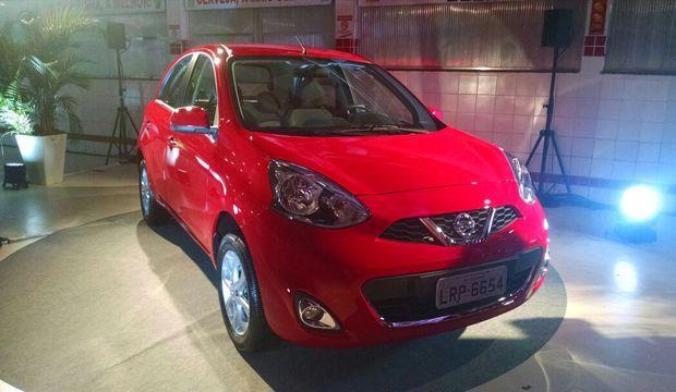 Nissan lança New March com novo motor 1.0 de três cilindros por R$ 35.990