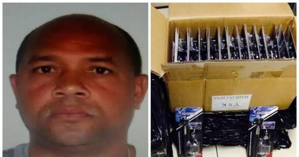 """Homem é preso por contrabando de 200 """"paus de selfie"""" no Rio ..."""