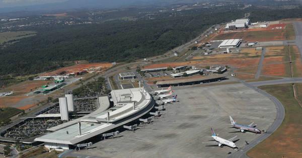 Aeroporto de Confins amanhece fechado e tem voos cancelados ...