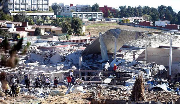 Maternidade explode no México e deixa mortos e feridos. Há soterrados