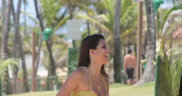 Panicat Mari Gonzalez grava clipe de música feita em sua ...