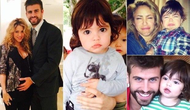 Veja todos os momentos em que a família de Shakira e Piqué derreteu nossos corações