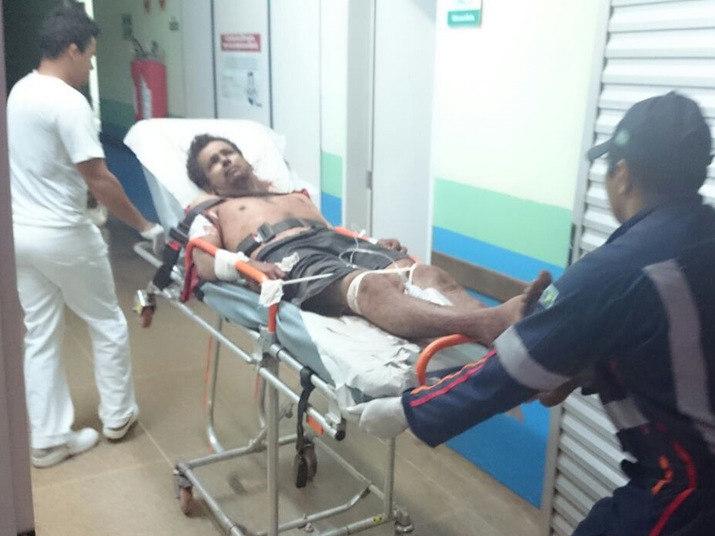 Segundo informações da imprensa local, Edielson Rodrigues de Souza, de 35 anos, foi encaminhado para o UPA (Unidade de Pronto Socorro), e em seguida para uma unidade hospitalar, mas morreu por ter gritado e estourado uma veia do ouvido esquerdo
