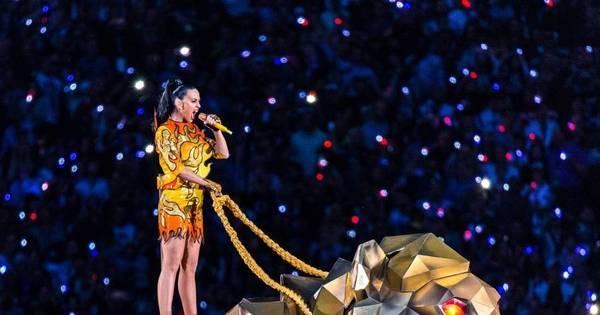 Veja fotos da apresentação de Katy Perry no Super Bowl - Fotos ...