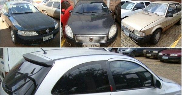 Que pechincha! Leilão da Receita tem VW Gol por R$ 1.800, Vectra ...