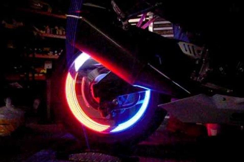 As motos também podem ser modificados