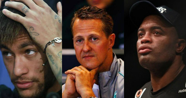 Segredo de Neymar e dramas de Anderson Silva e Schumacher ...