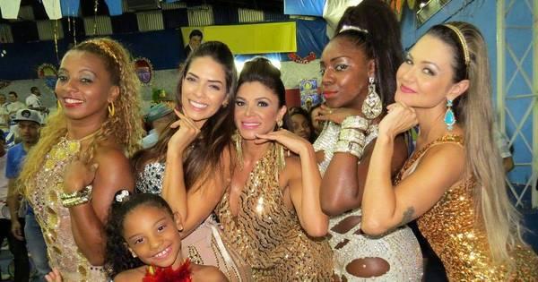 Nuelle Alves e Adryana Ribeiro se divertem em ensaio - Fotos - R7 ...