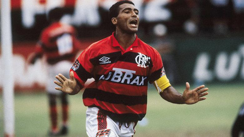 Um dos maiores ídolos do Vasco, Romário já foi o capitão do Flamengo por muito tempo