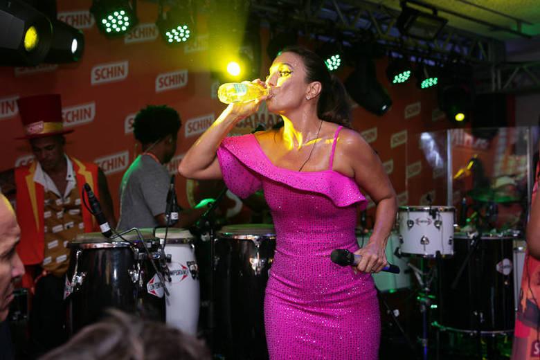 Ivete Sangalo no palco
