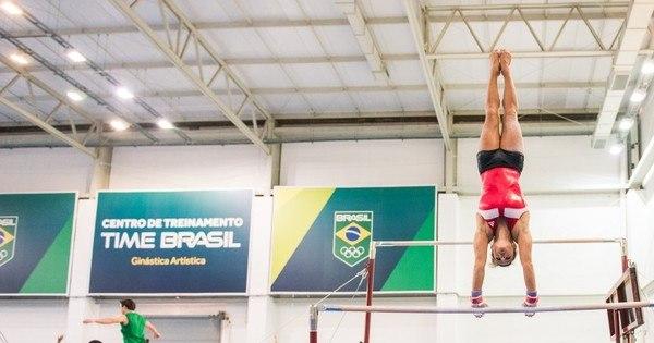 Ginastas brasileiros são só elogios ao novo CT Time Brasil - Rede ...