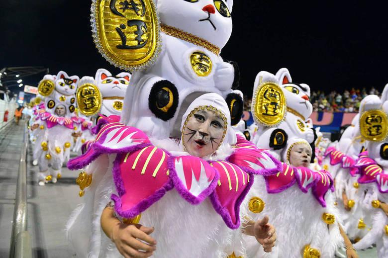 Águia de Ouro leva o Japão para a avenida