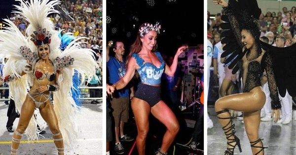 Veja 20 momentos de Sabrina Sato como musa do Carnaval - Fotos ...