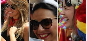 Musas anônimas encantam foliões nas ruas do Rio; veja fotos
