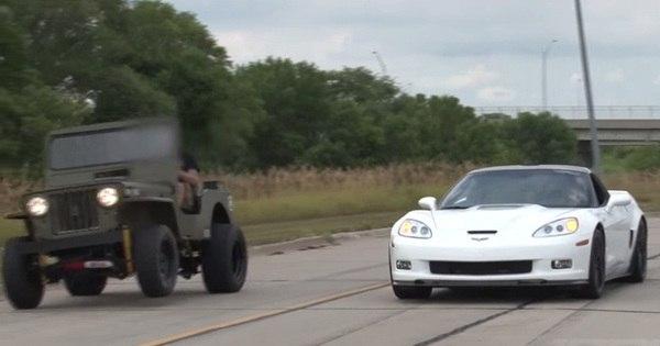Tudo é possível: Jeep Willys humilha Corvette, Porsche e Honda ...