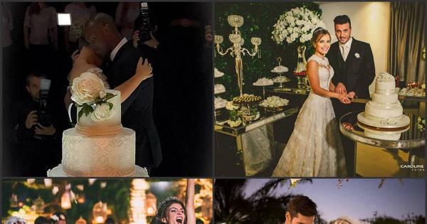 Lá vem a noiva! Relembre os casamentos mais emocionantes das ...