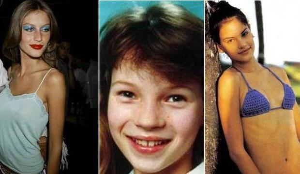 Gisele Bündchen, Kate Moss, Ambrosio e mais! Confira como eram as modelos antes da fama