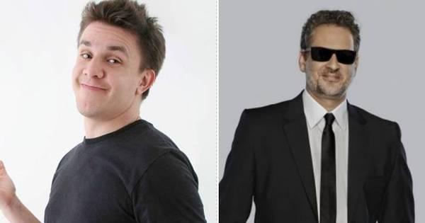 """Oscar Filho critica ida de Dan Stulbach para o CQC: """"Não consigo ..."""