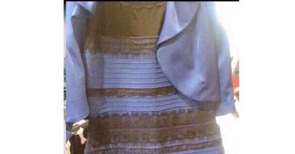 Cores de vestido confundem internautas e assunto bomba nas ...