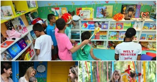 Programa leva espaço de leitura a abrigo de crianças em Carapicuíba