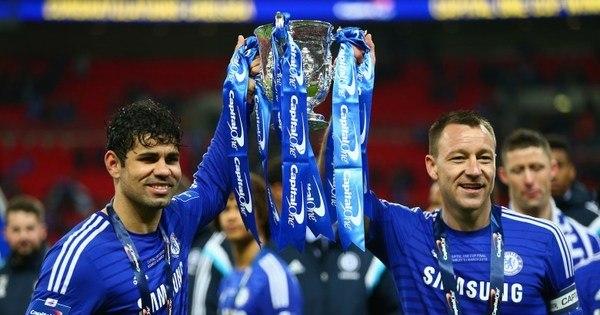 Diego Costa marca e Chelsea é campeão da Copa da Liga Inglesa ...