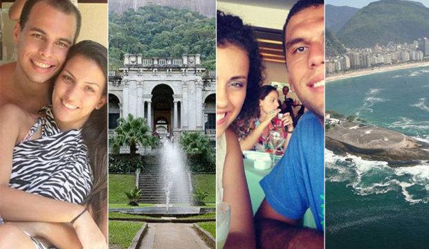 Casais abrem mão da rixa e indicam os<br />lugares mais românticos do Rio de Janeiro