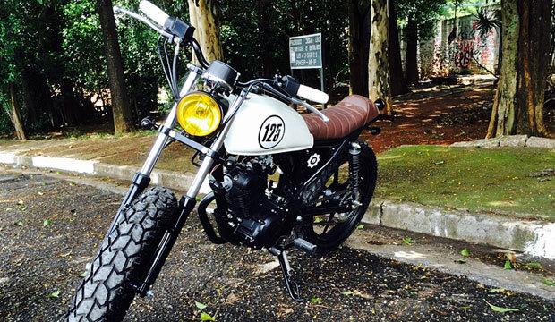 Oficina em SP customiza motos populares de baixa cilindrada a preços acessíveis