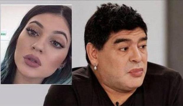 Após mudança no rosto, Maradona é comparado a irmã de Kim Kardashian