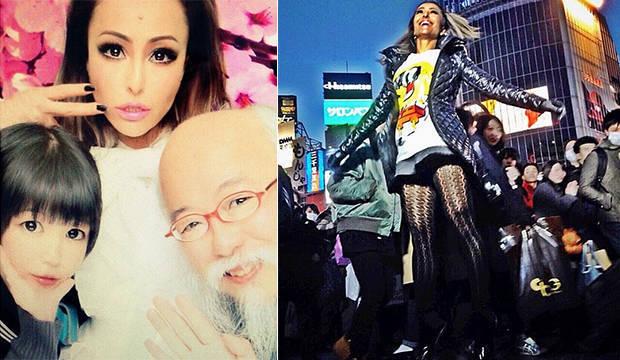 Aventura oriental! Veja tudo o que rolou no tour de Sabrina Sato pelo Japão