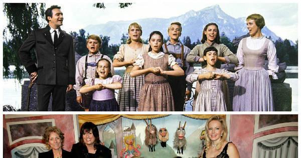 Veja como estão as crianças de A Noviça Rebelde, filme que ...