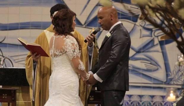 Veja fotos do casamento do sertanejo Rick<br />com a presença de Zilu e outros famosos