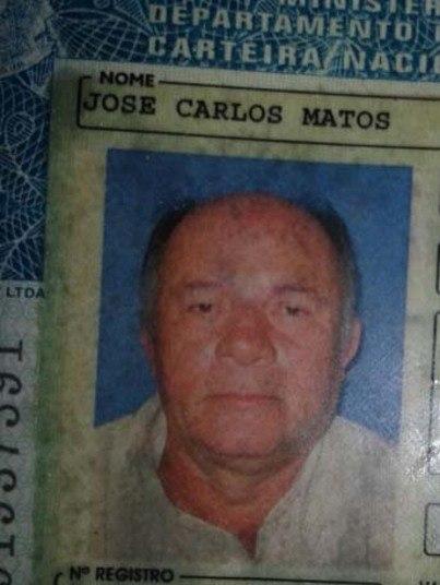 Após a colisão, José Carlos Matos, de 61 anos, não resistiu aos ferimentos e morreu no local